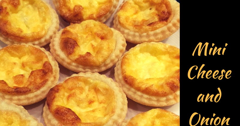 The Improving Cook: Mini Cheese and Onion Quiches