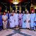 12 Presidential Candidates Endorsed President Buhari Less Than 48hrs To Election, See Their Faces And Parties They Belong