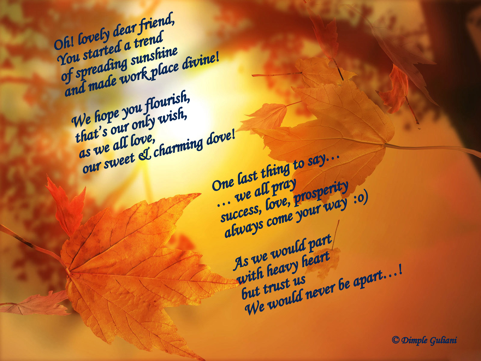 Fall Of Quotations Wallpapers Friendship Poems Wallpapers Free Wallpapers