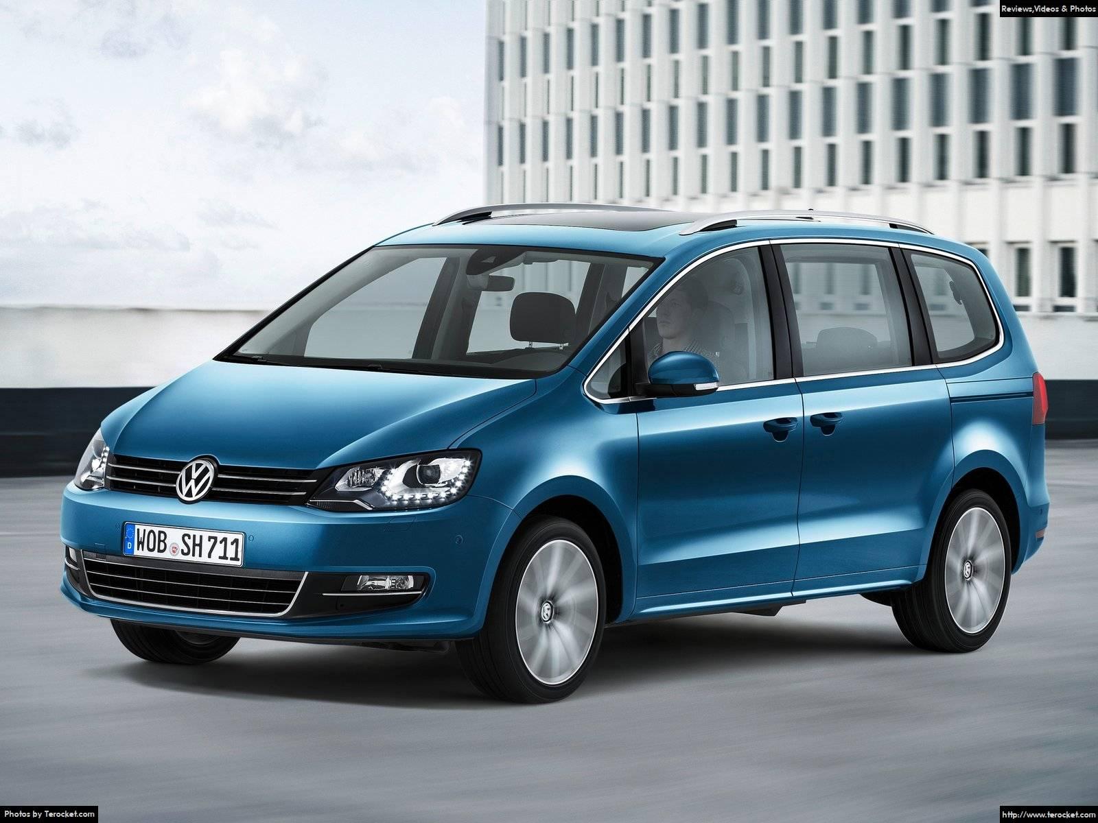 Hình ảnh xe ô tô Volkswagen Sharan 2016 & nội ngoại thất