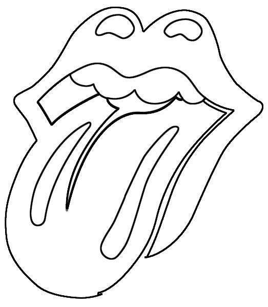 pantalones campana,apliques, lengua rollings stones, plantilla