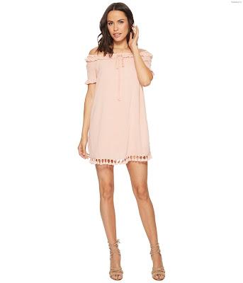 Vestidos rosados claros