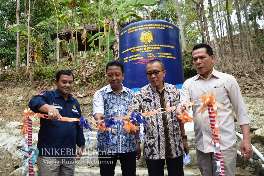 Warga Merden Terima Bantuan Sumur Bor