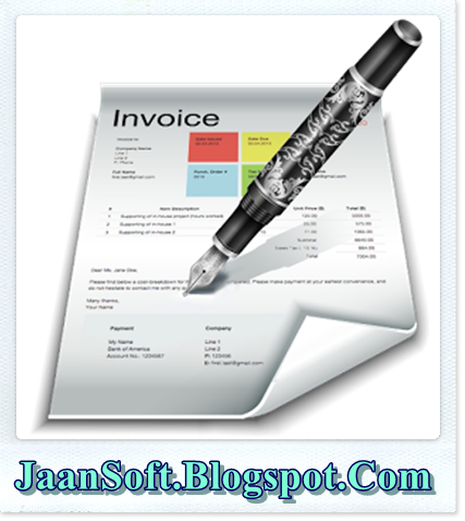 Download Quick Invoice Pro For Windows Latest JaanSoft - Quick invoice