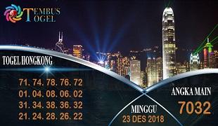 Prediksi Angka Togel Hongkong Minggu 23 Desember 2018