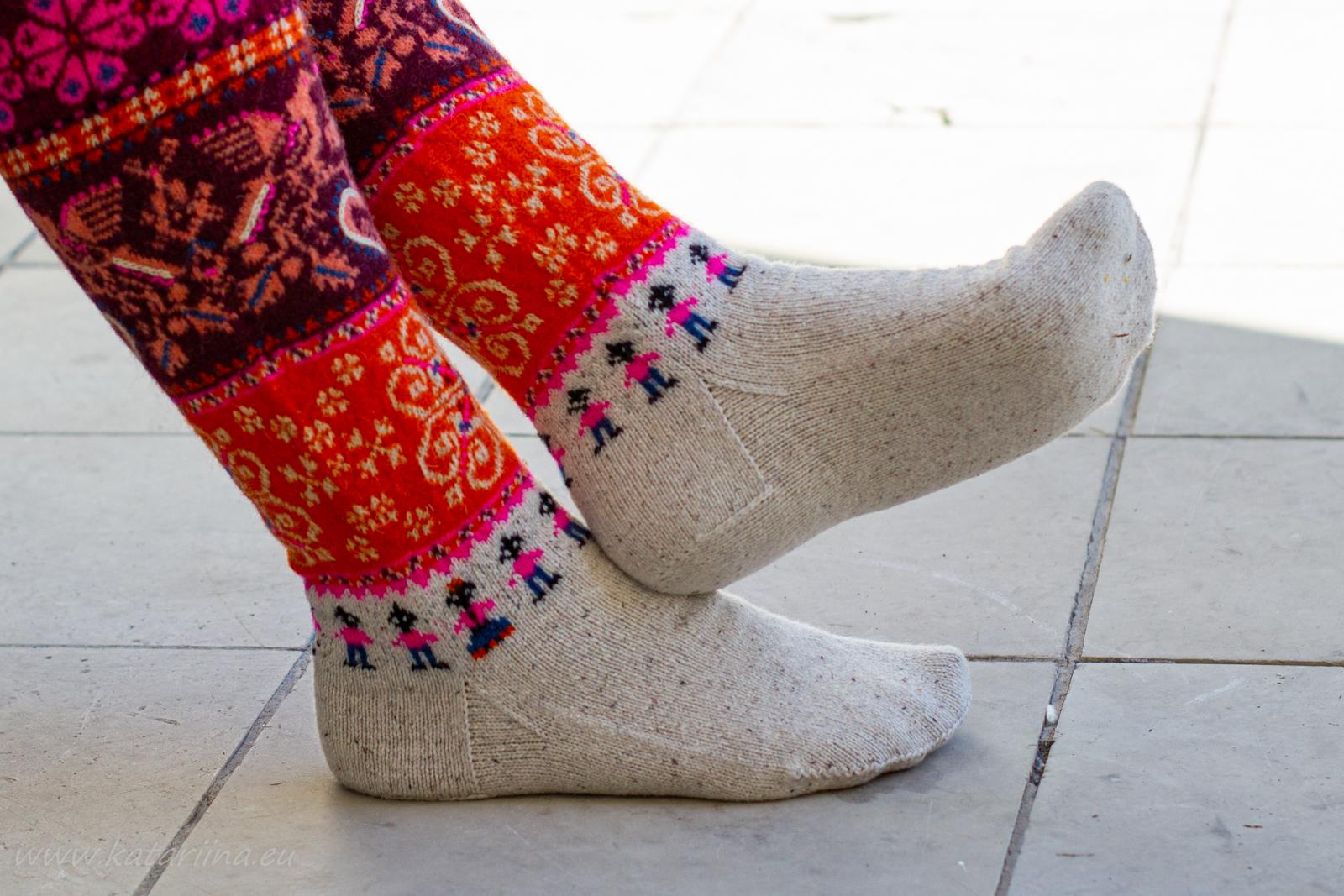 1678a5950eb Minu Muhu sukkadel on saksa kand südamekand (näed, juba unustasin, et  katsetasin seekord esimest korda hoopis südamekanda - väga lihtne ja mugav,  ...