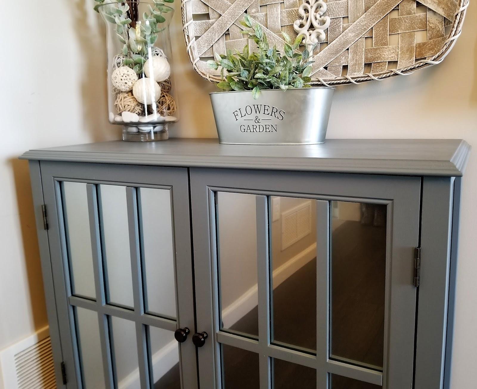 Target Windham Gray Cabinet DIY