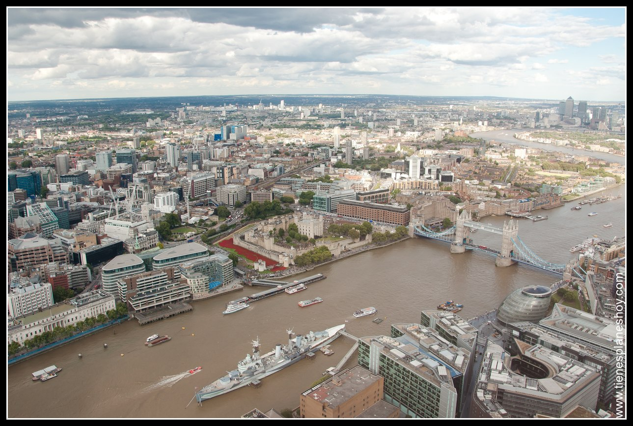Vistas desde The Shard Londres (London)