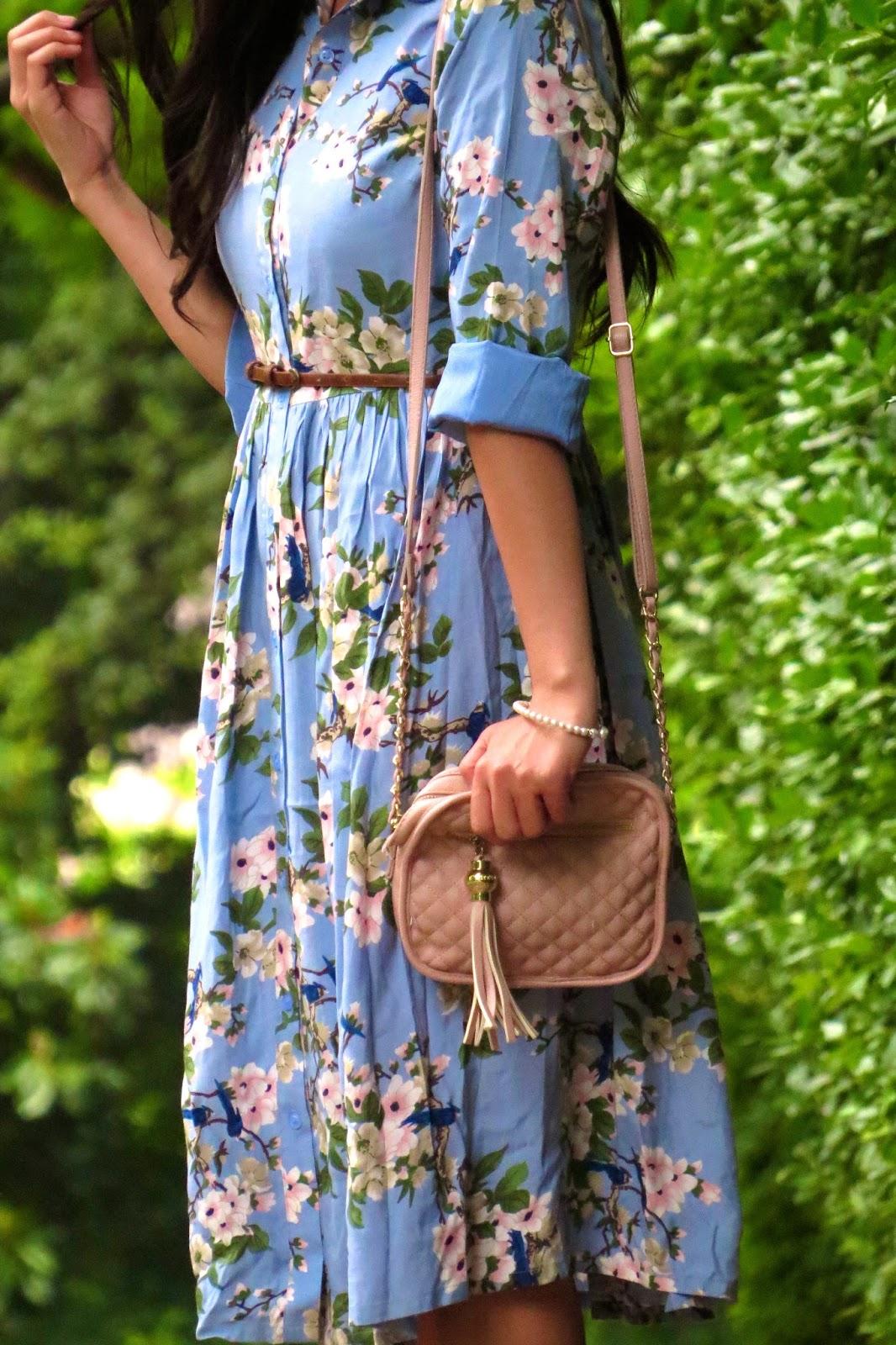 Midi dress outfit inspo