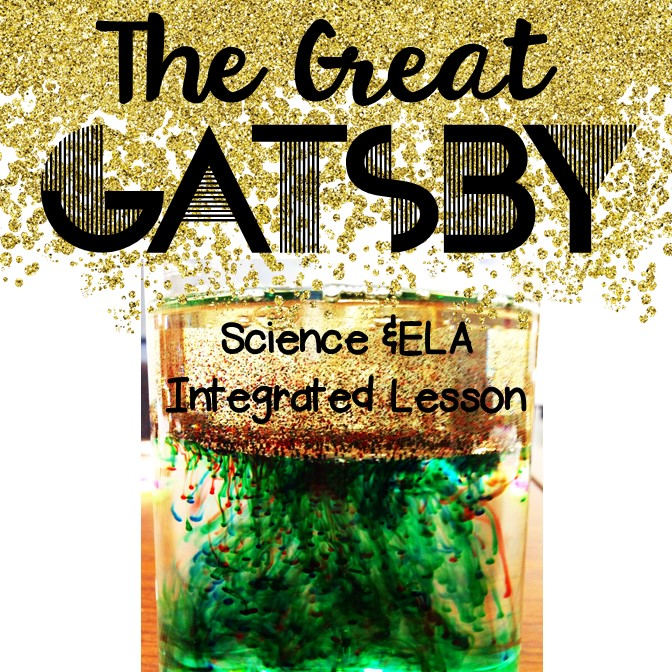 Bs book love 2015 the great gatsby science and ela integrated lesson fandeluxe Images