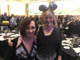 Romance authors Sarah Andre and C.F. Francis after the 2017 Romance Writers of America RITA Award ceremony