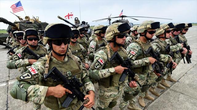 OTAN comienza las maniobras Noble Partner 2018 en Georgia