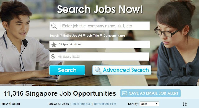 find jobs singapore opportunities foreigners