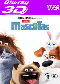 Mascotas (2016) 3D Full SBS