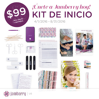 Jamberry's starter kit is available in English and Spanish, contact Noel Giger at glowgirls@noelgiger.com for more information today!