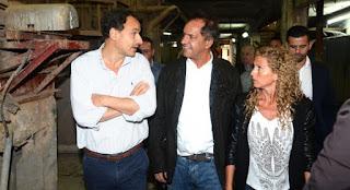 El ex gobernador acelera sus actividades en el Conurbano.
