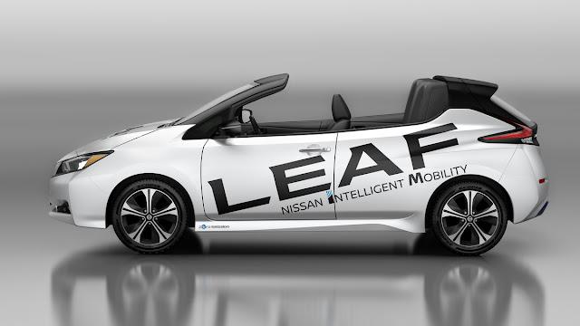 Nissan apresenta LEAF conversível