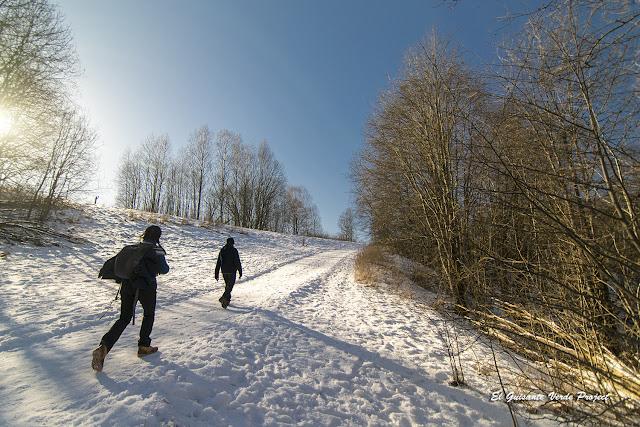 Senderos nevados en Akerselva - Oslo por El Guisante Verde Project