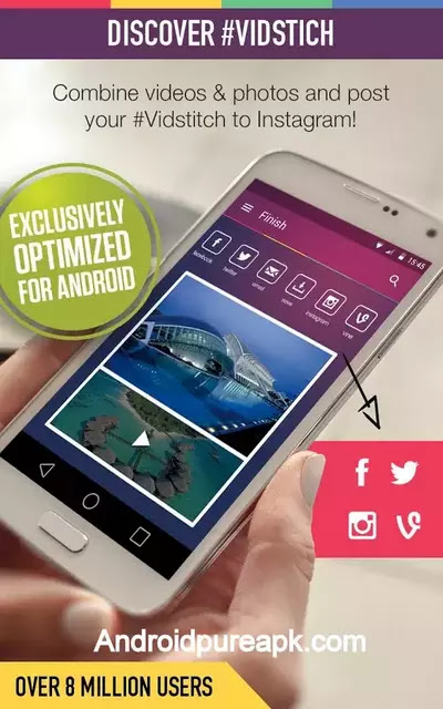 Vidstitch Pro - Video Collage Apk Download Premium