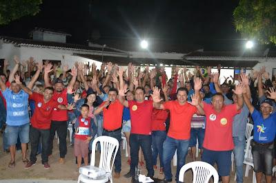 Resultado de imagem para fotos do prefeito naldinho sao paulo do potengi em campanha politica