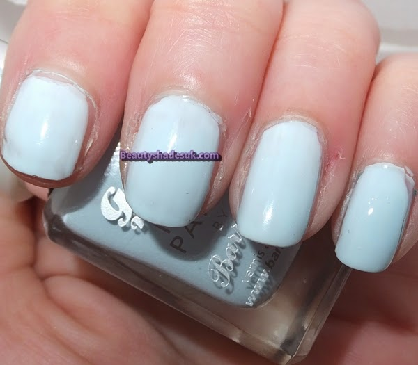 Barry M Gelly  Nail Huckleberry swatch