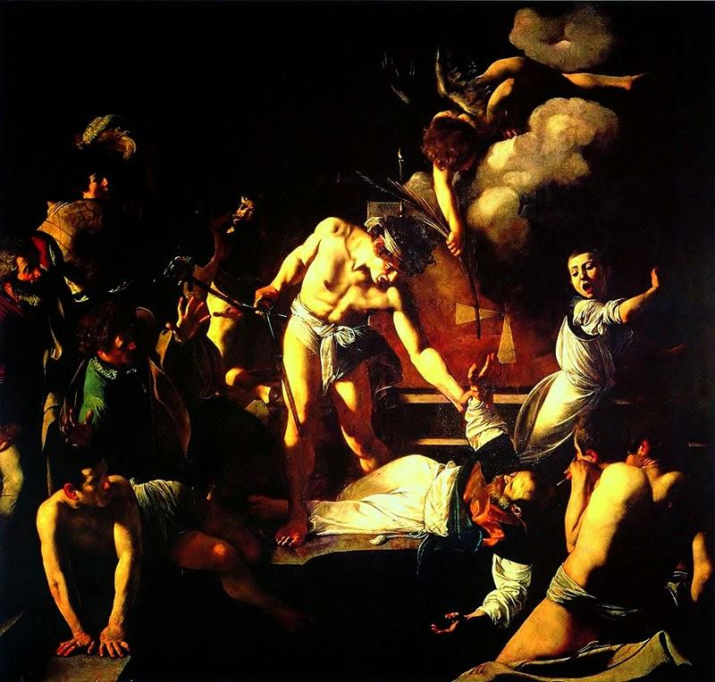 """""""O Martírio de São Mateus"""", de Caravaggio - excursões com guia particular em português"""