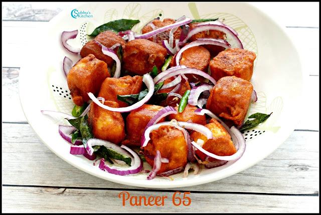 Paneer 65 Recipe | Restaurant Style Paneer 65