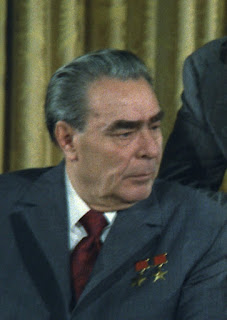Leonid Ilych Brezhnev.