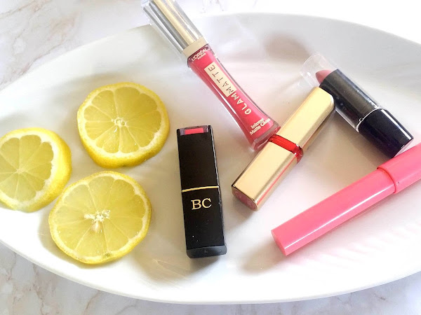 Spring lipsticks - What I've been wearing lately