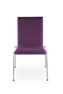 Scaun vizitator conferinte Cadeira 4L-Arm Plus fata