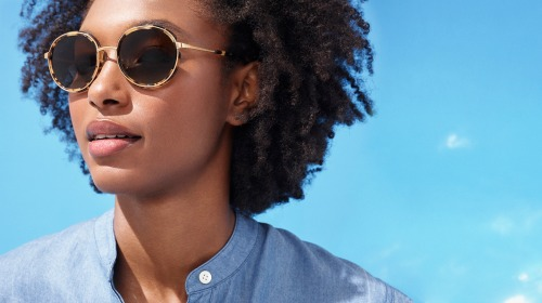 Warby Parker Field Series Sunglasses Bonnie in Walnut Tortoise