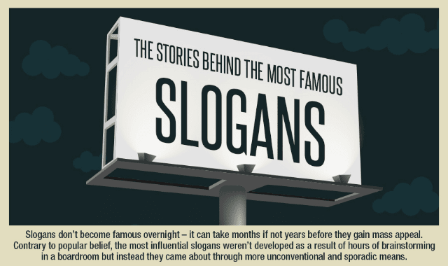 The Stories Behind The Most Famous Slogans