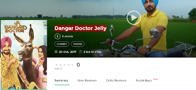 Dangar Doctor Jelly 2017 Full Punjabi Movie 700mb HD 300mb