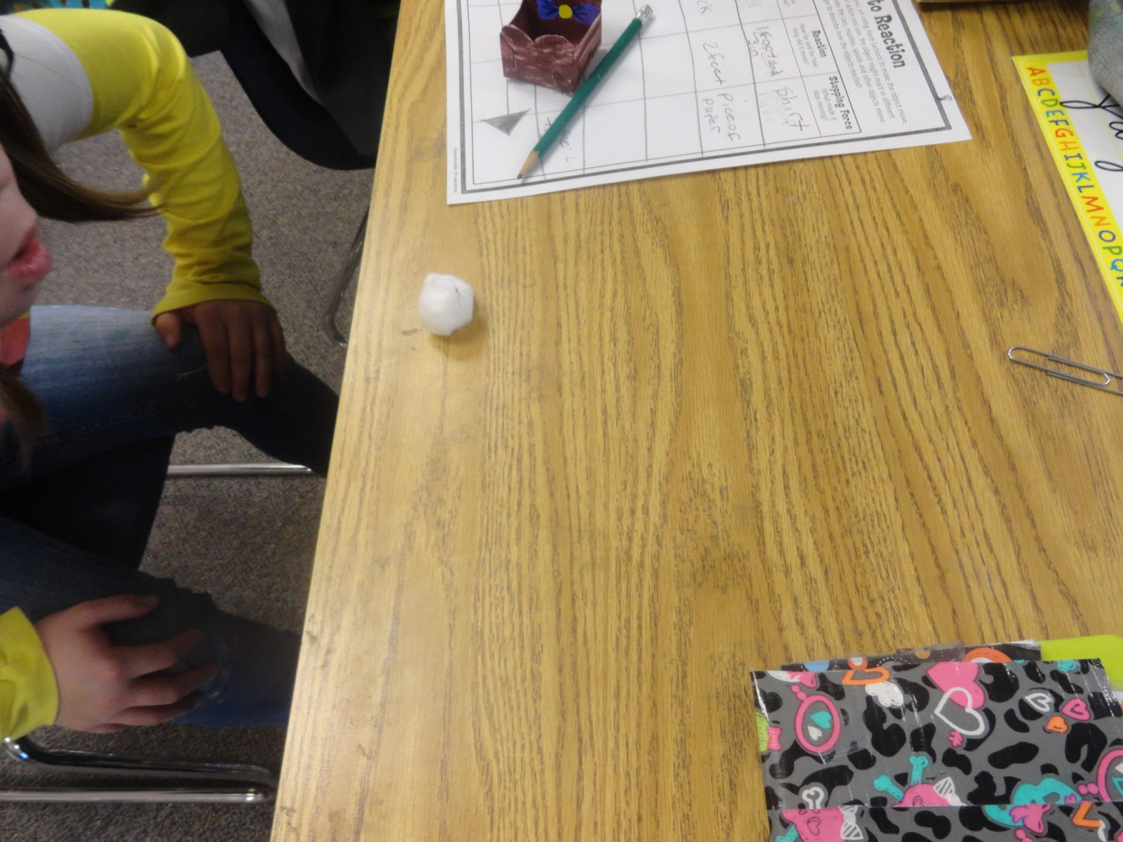 Adventures In Third Grade Forces And Motion