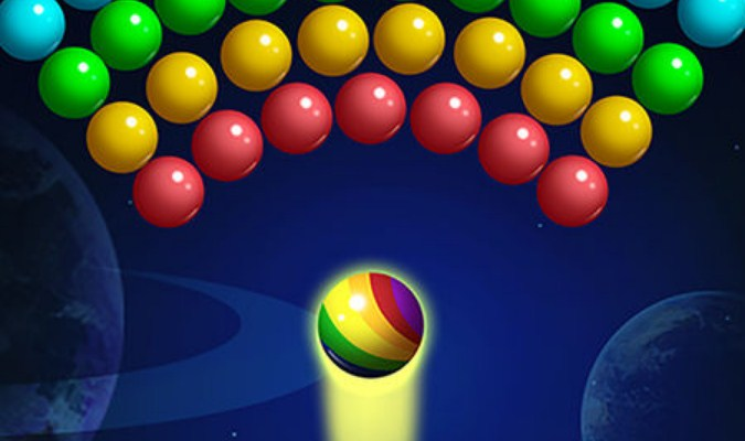 Game Ringan untuk HP Kentang - Bubble Shooter