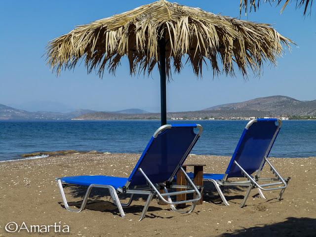 Plage Iria Peloponnese
