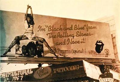 rolling stones black blue bondage anita russell billboard