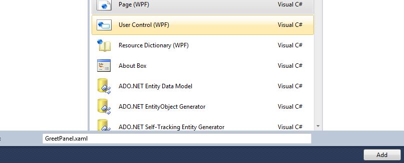 DOT NET TRICKS: Writing a Reusable WPF Control with Design