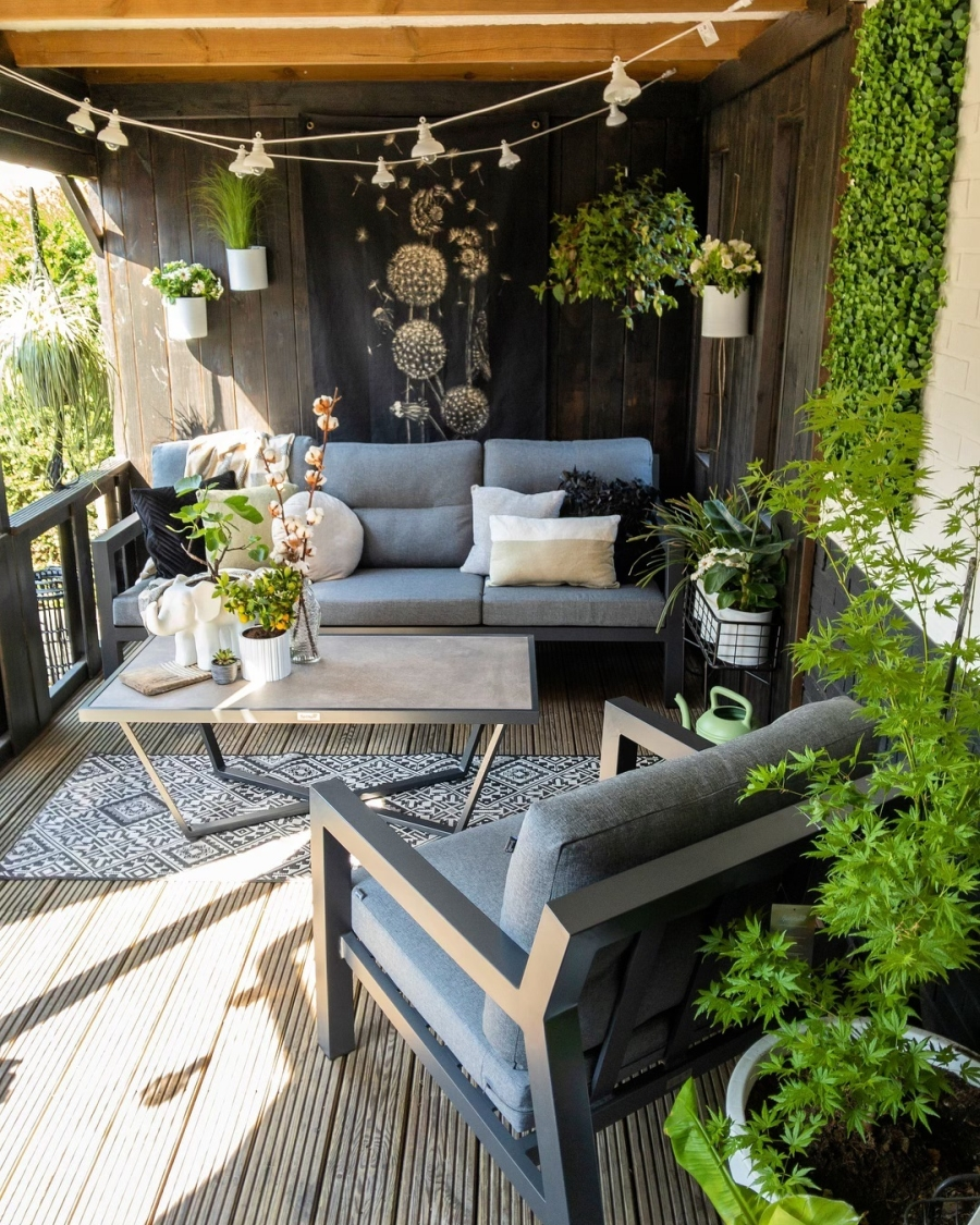 Klimatyczne mieszkanie z industrialnymi elementami, wystrój wnętrz, wnętrza, urządzanie domu, dekoracje wnętrz, aranżacja wnętrz, inspiracje wnętrz,interior design , dom i wnętrze, aranżacja mieszkania, modne wnętrza, styl skandynawski, scandinavian style, boho, styl industrialny, industrial style, styl rustykalny, retro, urban jungle,taras, weranda, balkon