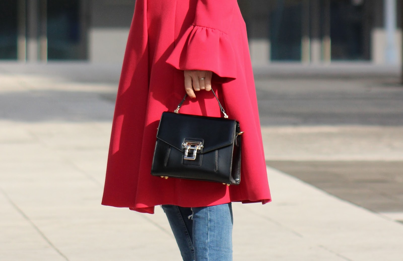 come indossare un cappotto rosso - Eniwhere Fashion