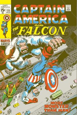 Captain America #135, gorilla