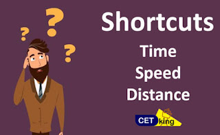 TIME SPEED AND DISTANCE SHORTCUT TRICKS