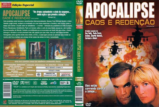 Capa DVD Apocalipse - Caos e Redenção