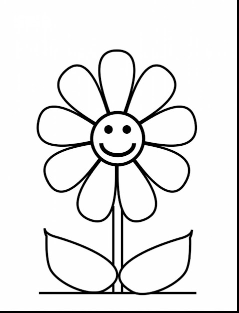 Beautiful Color Flower Coloring Pages With Sunflower Coloring Page And Sunflower  Coloring Page