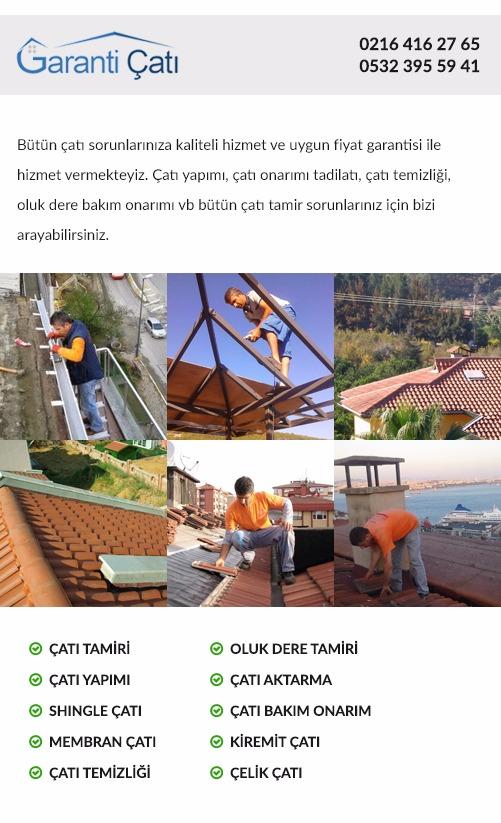 Ümraniye Atakent Çatı Ustası Bakım Onarım Aktarım Tadilat Temizliği ustaları çatı tamiri firması kaplama membran çatı fiyatları çatıcı