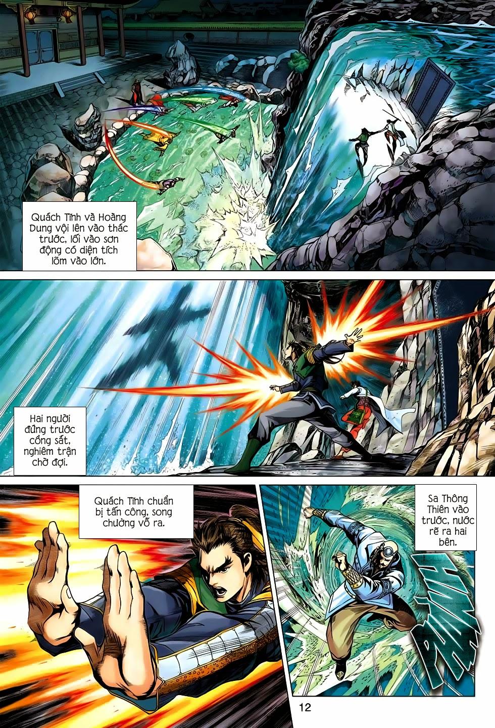 Anh Hùng Xạ Điêu anh hùng xạ đêu chap 56: tuyệt tình vô nghĩa lãnh huyết ác niệm trang 12