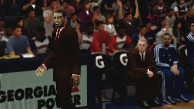 NBA 2K13 Patch Larry Drew Cyber Face Mod