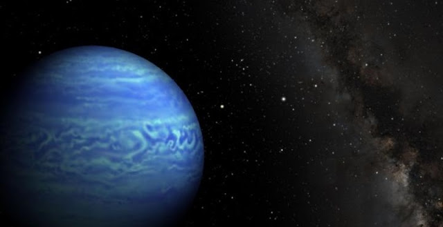 An artist's conception of a cool brown dwarf. Credit: NASA/JPL-Caltech/Penn State University