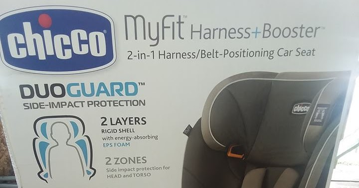Baby Safety Month With Chiccos MyFit 5 Point Harness Booster Seat