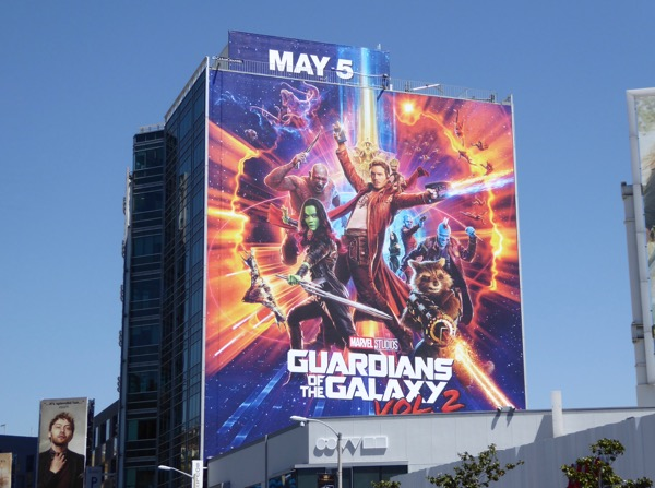 Guardians of the Galaxy 2 billboard